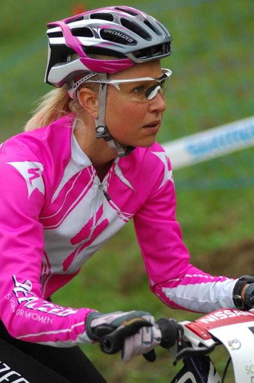 SP XC #9 Schladming 2008 - Lene Byberg na tréninku