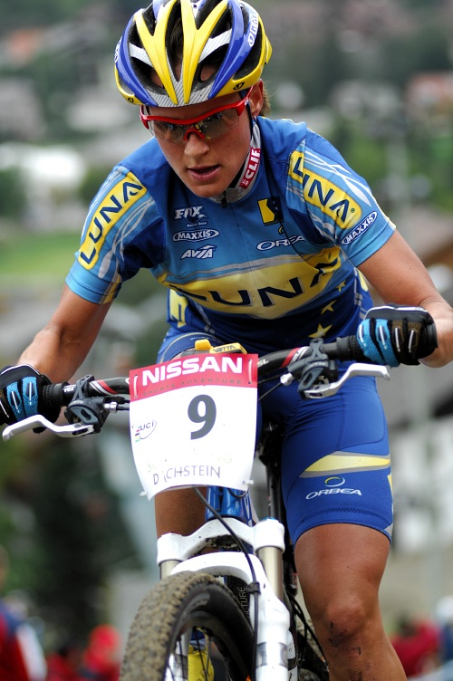 SP XC #9 Schladming 2008 - Kate�ina Nash Hanu�ov�
