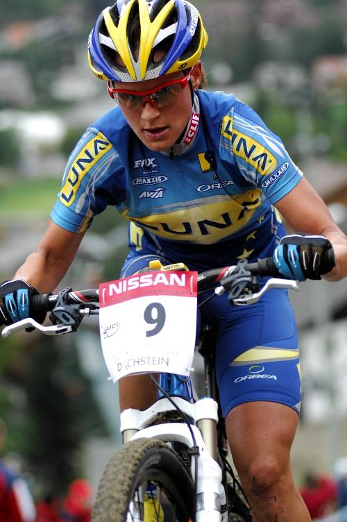 SP XC #9 Schladming 2008 - Kateřina Nash Hanušová
