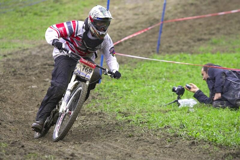 Nissan UCI MTB World Cup DH #7, Schladming 13.9. 2009 - jóó, fotografové, to je život