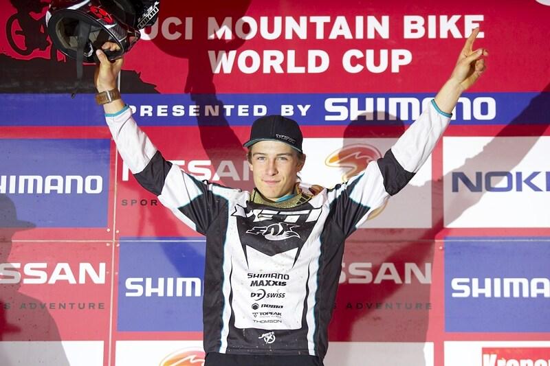 Nissan UCI MTB World Cup DH #7, Schladming 13.9. 2009 - Samuel Blenkinsop