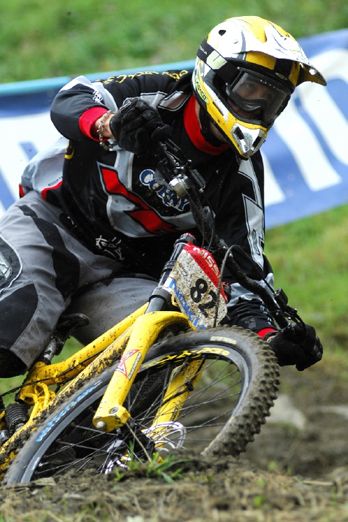 SP DH #7 Schladming 2008 - Pavel �ep
