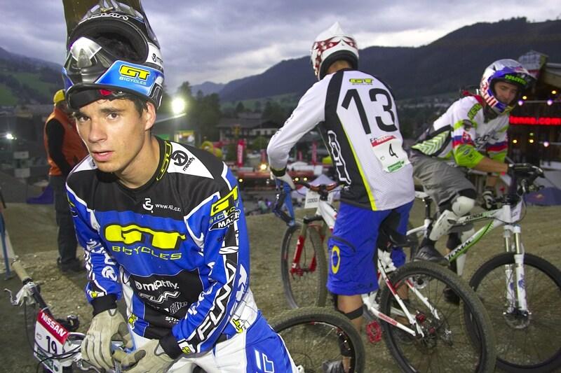 Nissan UCI MTB World Cup 4X #7 - Schladming, 12.9. 2008 - Tomáš Slavík nebyl z dráhy nadšený