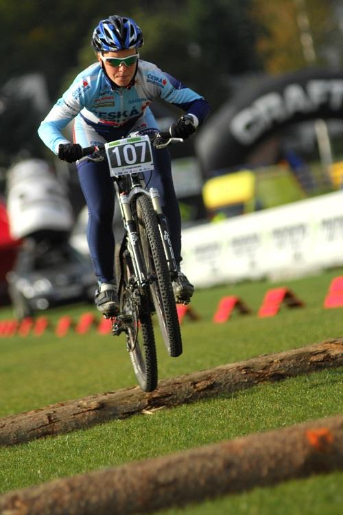 Merida Bike Vysočina '08 - sprint: Jana Valešová nejrychlejší ženou v kvalifikaci