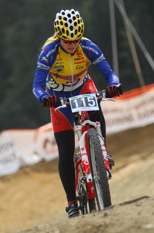 Merida Bike Vysočina '08 - sprint - Ivana Pechoutová