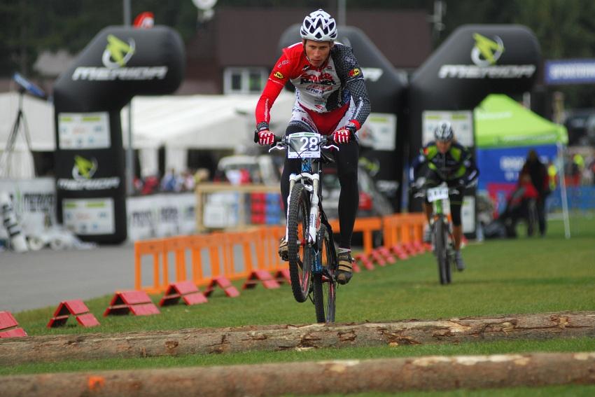 Merida Bike Vysočina '08 - sprint - Matouš Ulman při tréninku