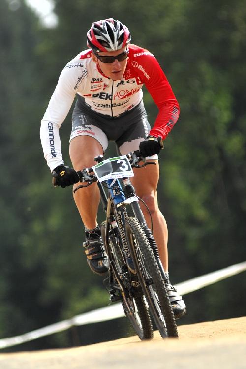 Merida Bike Vysočina '08 - sprint - Pavel Boudný v kvalifikaci