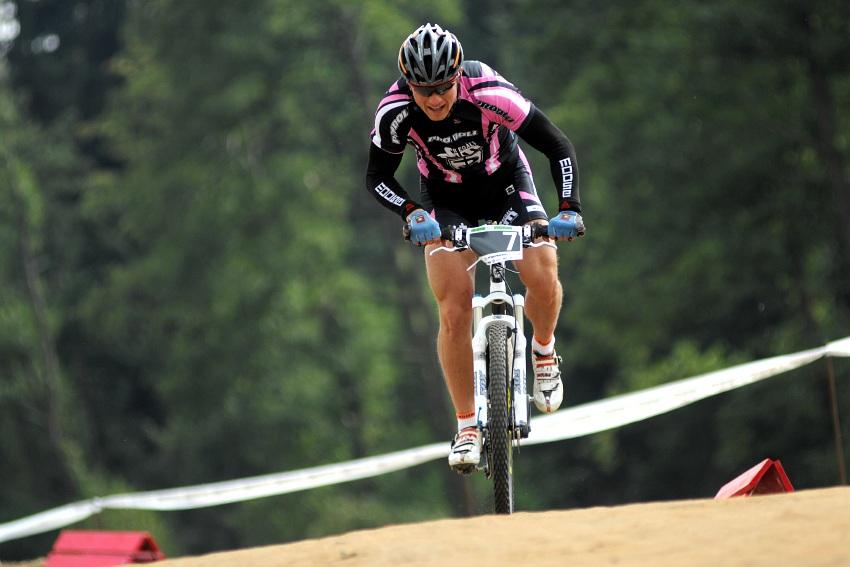 Merida Bike Vysočina '08 - sprint - Ivan Rybařík kvalifikací neprošel