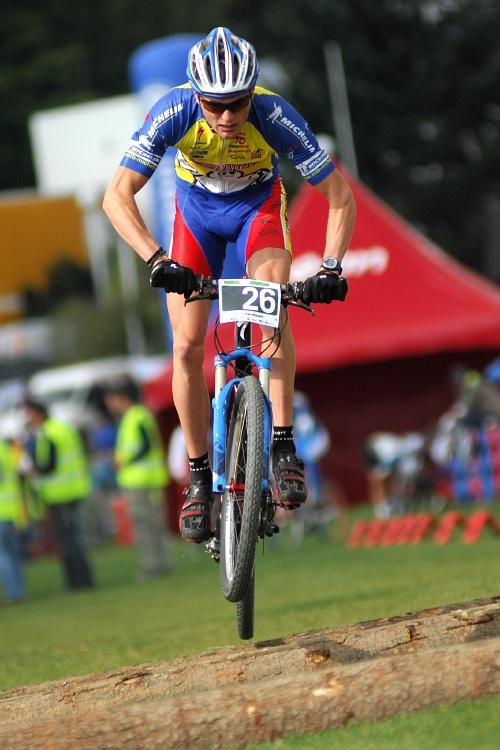 Merida Bike Vyso�ina '08 - sprint - Ond�ej Zelen� zajel druh� kvalifika�n� �as