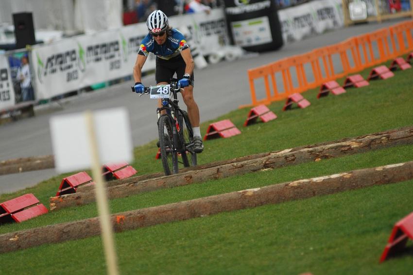 Merida Bike Vysočina '08 - sprint - Martin Koukal jel hodně opatrně