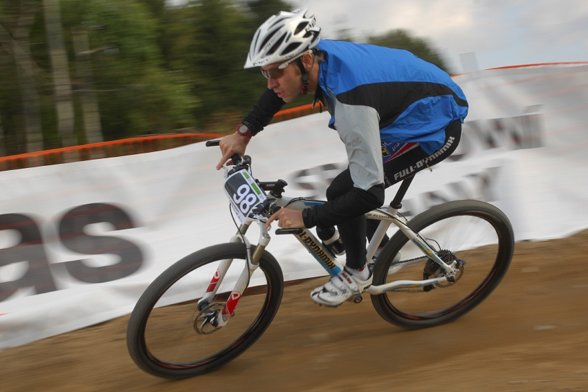 Merida Bike Vyso�ina '08 - sprint - Fredrik Kessiakoff