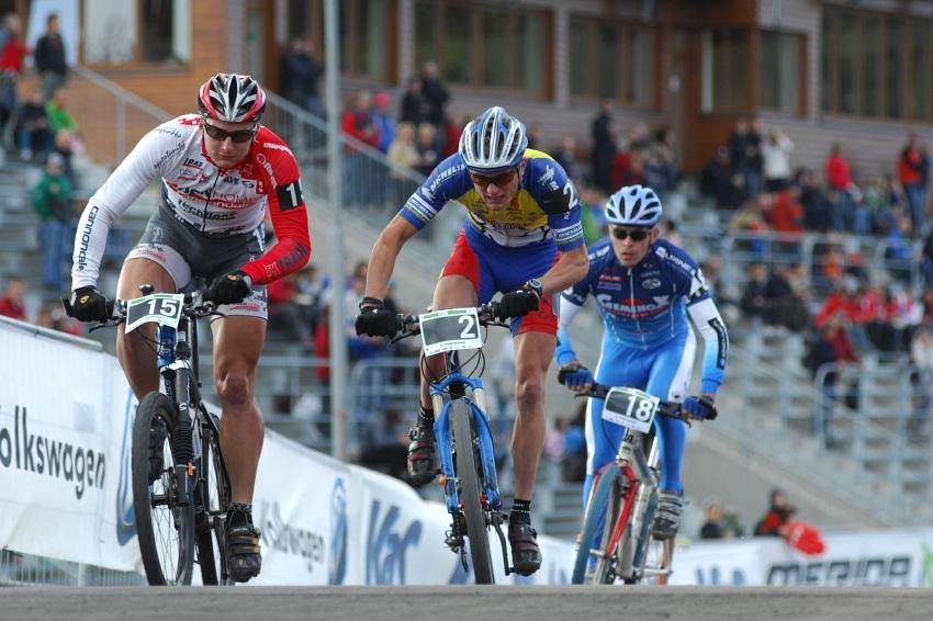 Merida Bike Vyso�ina '08 - sprint: prvn� rozj��ky