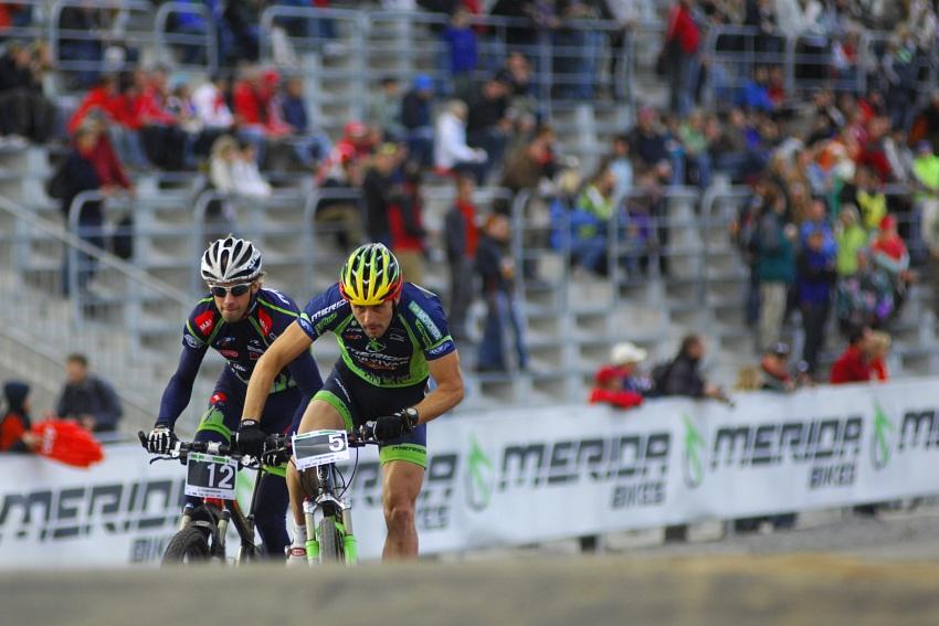 Merida Bike Vysočina '08 - sprint: první rozjížďky
