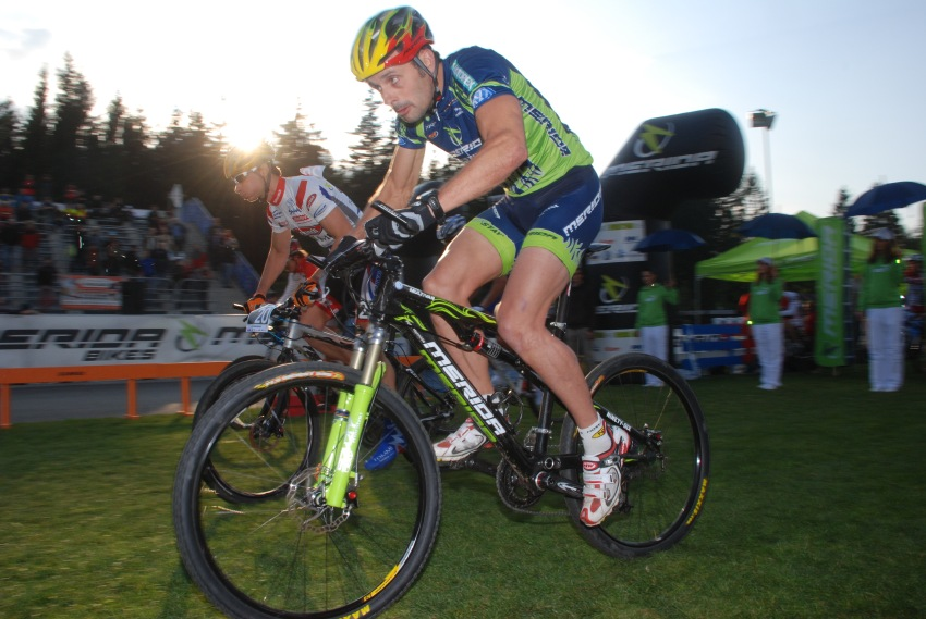Merida Bike Vysočina '08 - sprint: Jose Antonio Hermida