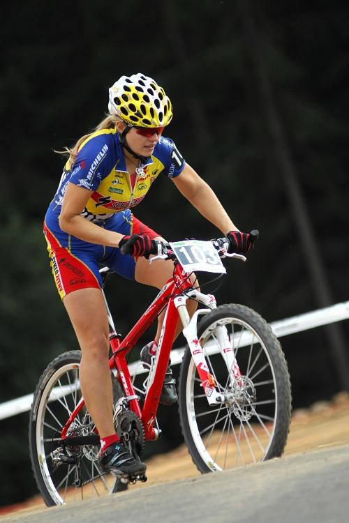 Merida Bike Vysočina '08 - sprint: Ivana Pechoutová patřila k ženským favoritkám