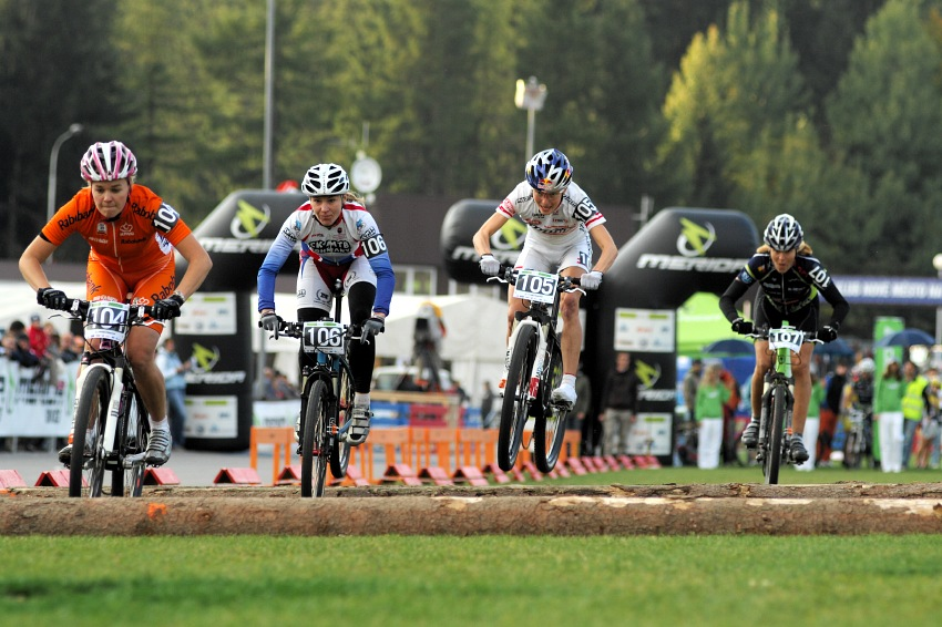 Merida Bike Vysočina '08 - sprint: dámské malé finále