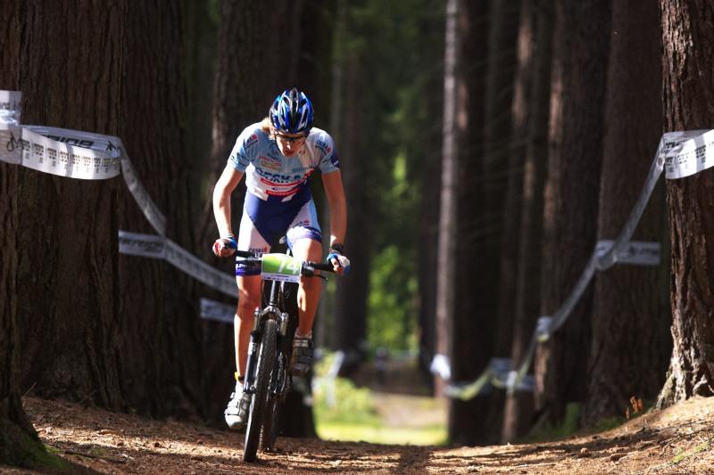 Merida Bike Vysočina, Nové Město na Moravě 28.9. 2008 - Aleš Janda, vítěz juniorů