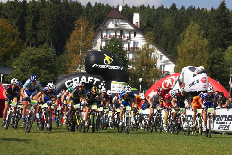 Merida Bike Vysočina, Nové Město na Moravě 28.9. 2008 - start mužů