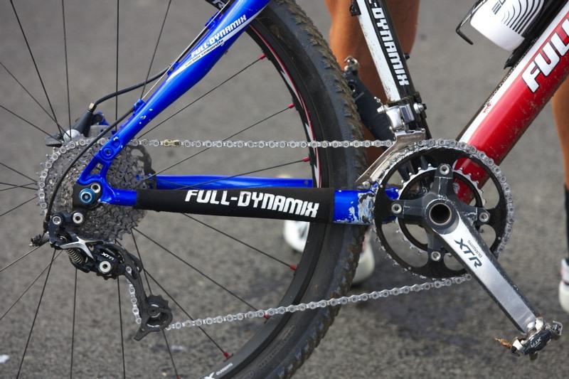 Merida Bike Vysočina, Nové Město na Moravě 28.9. 2008 - zpřevodování Tonyho Longa