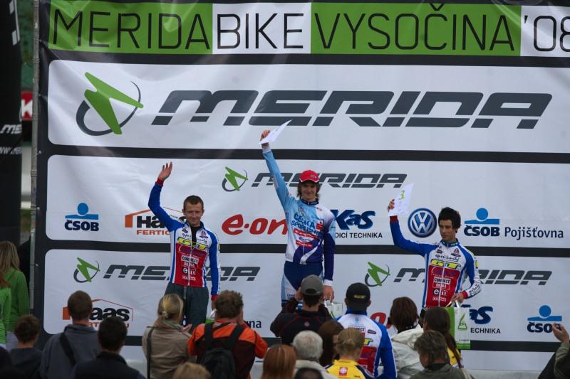 Merida Bike Vysočina, Nové Město na Moravě 28.9. 2008 - junioři