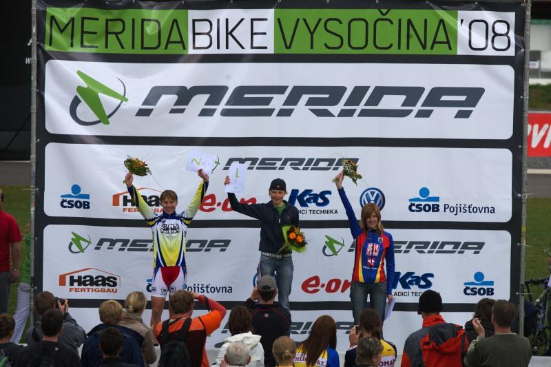 Merida Bike Vyso�ina, Nov� M�sto na Morav� 28.9. 2008 - �eny