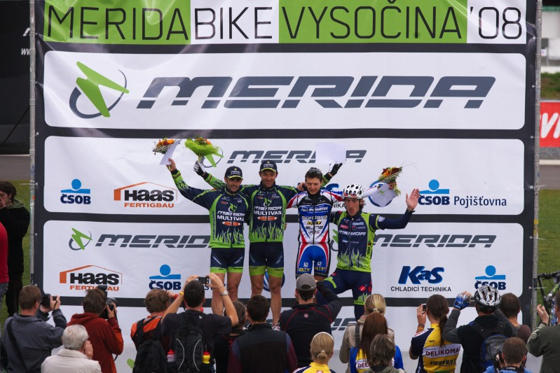 Merida Bike Vyso�ina, Nov� M�sto na Morav� 28.9. 2008 - mu�i