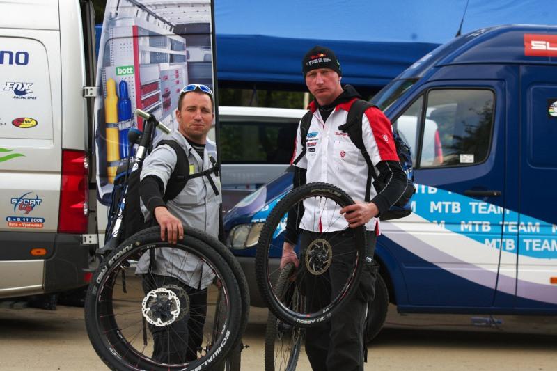 Merida Bike Vyso�ina, Nov� M�sto na Morav� 28.9. 2008 - mo�n� posledn� spole�n� z�vod?!