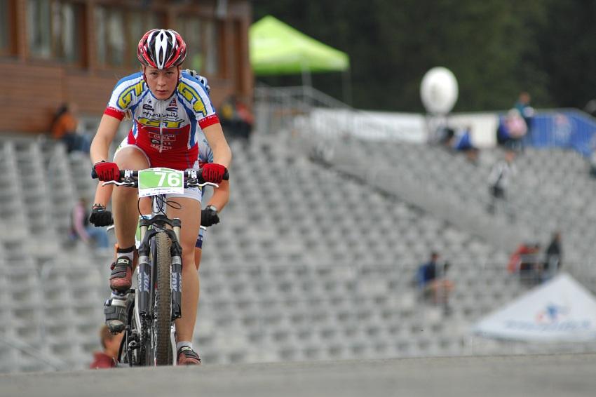 Merida Bike Vysočína '08 - XC: Lucie Veselá