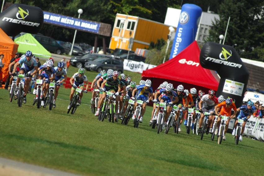 Merida Bike Vysočína '08 - XC: start mužů