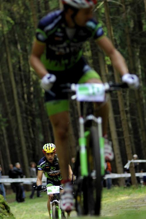 Merida Bike Vyso��na '08 - XC: Hermida doj�d� Naefa