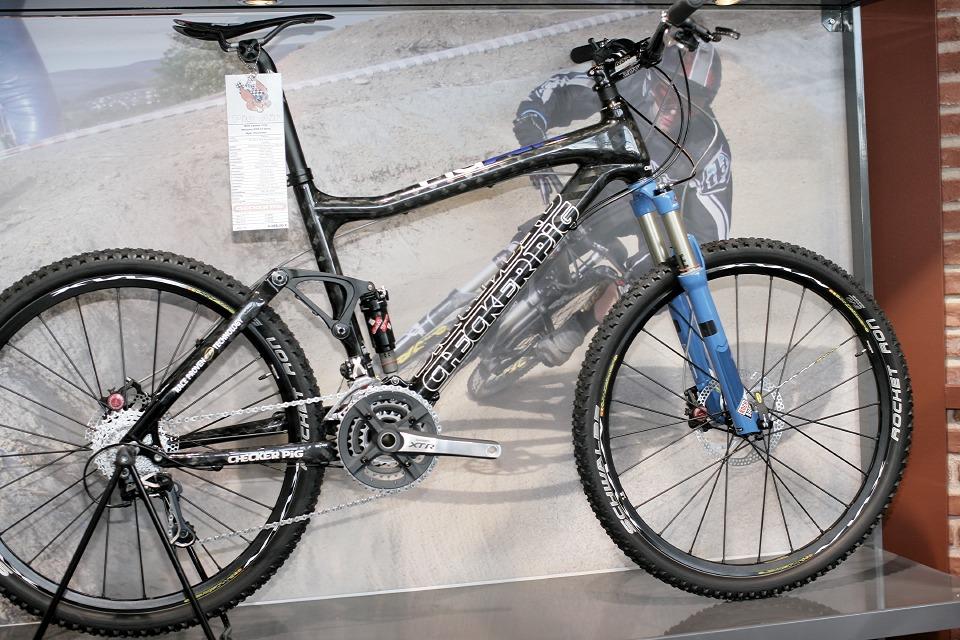 Checker Pig - Eurobike 2008