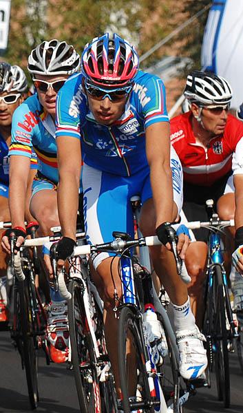 Mistrovství světa na silnici 2008, Varese/ITA - A. Ballan, foto: Frank Bodenmüller/MTBSector.com