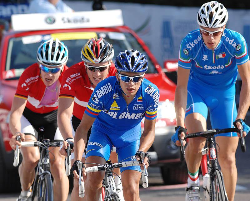 Mistrovství světa na silnici 2008, Varese/ITA - Fabio Duarte,  foto: Frank Bodenmüller/MTBSector.com