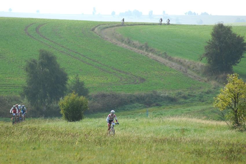 Merida Bike Maraton '08: Odsko�en� Petr Tat��ek