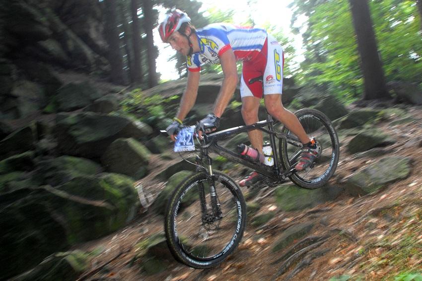 Merida Bike Maraton '08: Václav Strnad na Bohdalci