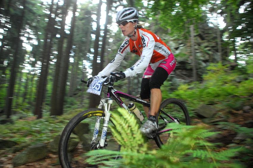 Merida Bike Maraton '08: Barbora Radová vedoucí závodnicí v ženské kategorii