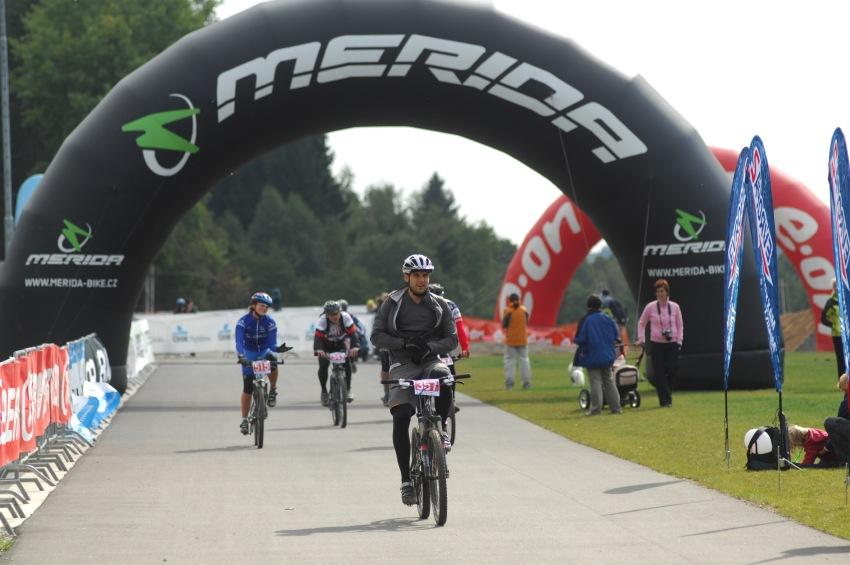 Merida Bike Maraton '08: asfaltový dojezd do cíle