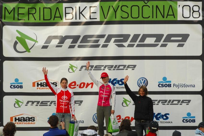 Merida Bike Maraton '08: Barbora Radová nejrychlejší na 80km trati
