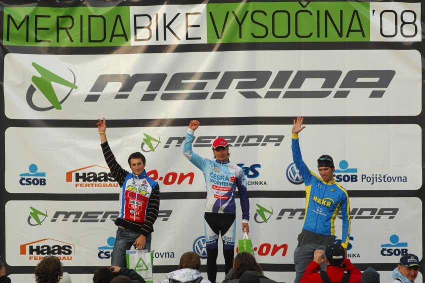 Merida Bike Maraton '08: 80km - 1.Zerzan, 2.Strnad, 3.Fajt