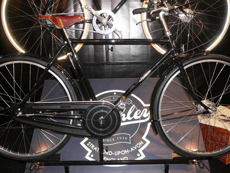 Cycle Show London 2008 - to je geometrie, že? foto: Petr Slavík