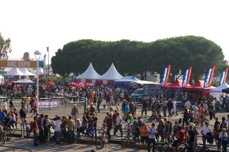 Roc d'Azur 2008 - Frejus/FRA - jediným českým vystavovatelem byla Rubena