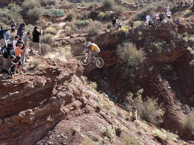 Red Bull Rampage the Evolution 2008, Virgin - Utah, USA - 360 Daren Berrecloth, foto: Pavel Mikez