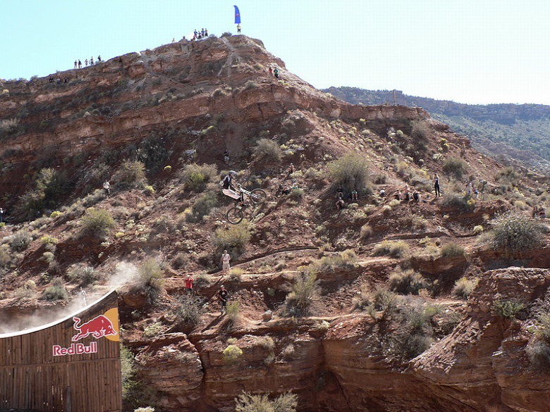 Red Bull Rampage the Evolution 2008, Virgin - Utah, USA - Thomas Vanderham, foto: Pavel Mikez