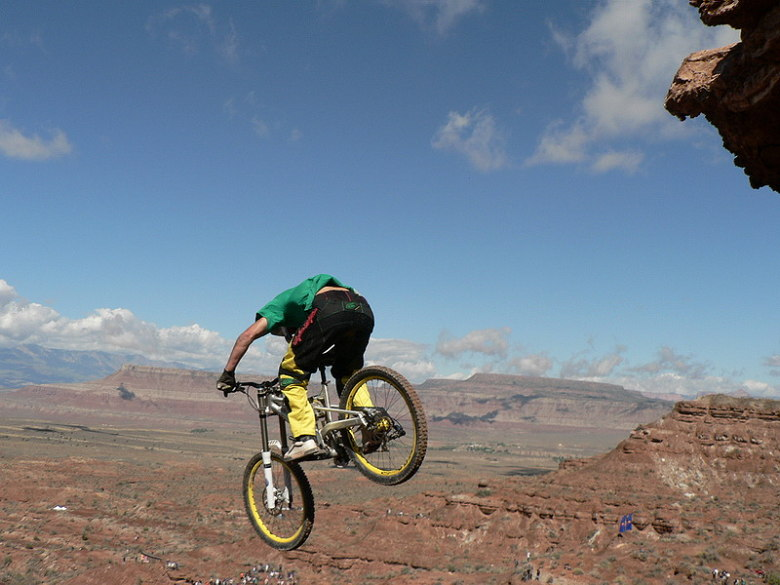 Red Bull Rampage the Evolution 2008, Virgin - Utah, USA - Chris Van Dine, foto: Pavel Mikez