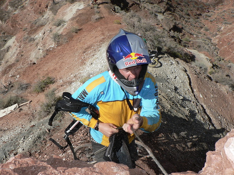 Red Bull Rampage the Evolution 2008, Virgin - Utah, USA - Quido Tschugg, foto: Pavel Mikez
