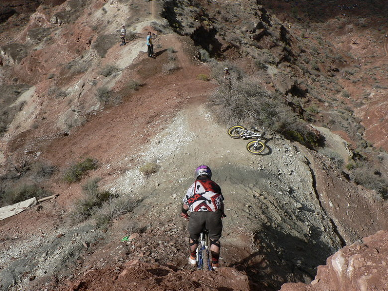 Red Bull Rampage the Evolution 2008, Virgin - Utah, USA - MRSN rider, foto: Pavel Mikez