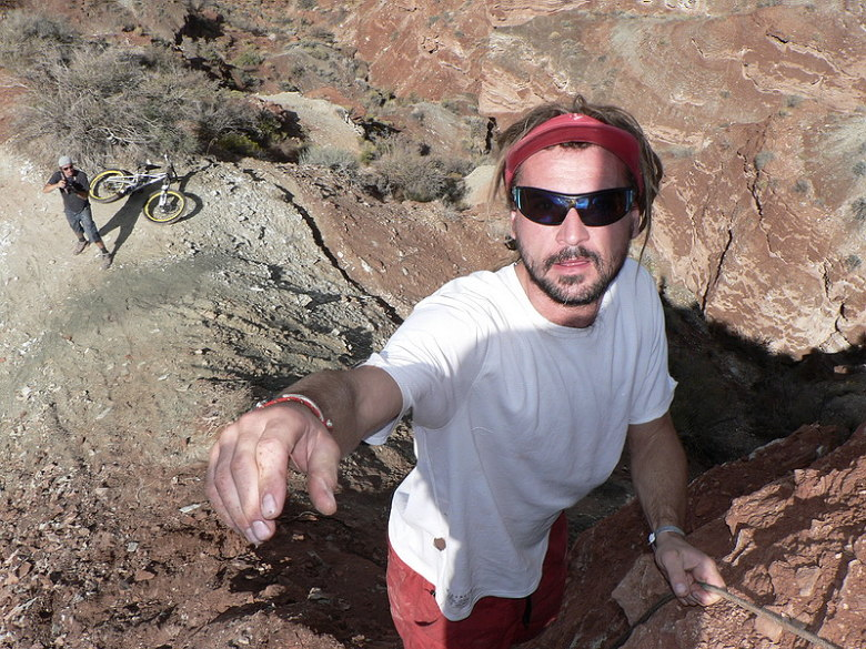 Red Bull Rampage the Evolution 2008, Virgin - Utah, USA - to d�! foto: Pavel Mikez
