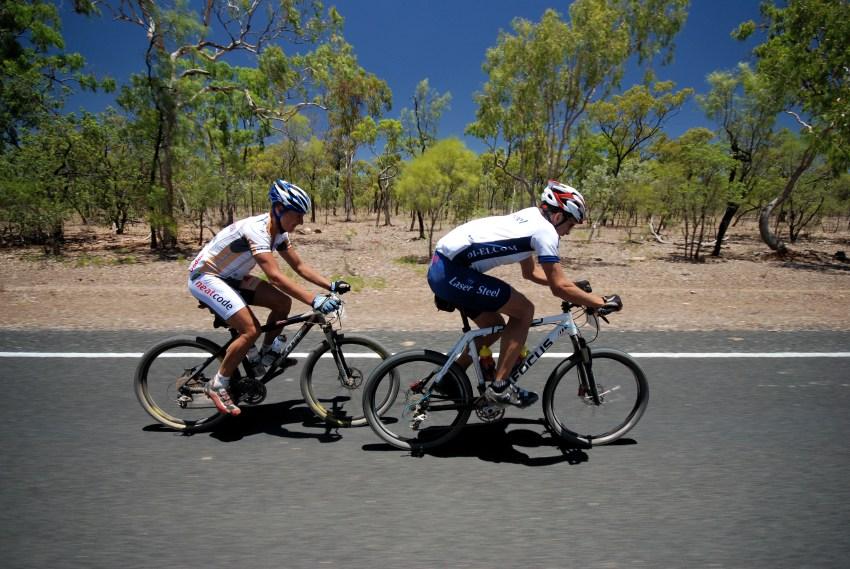 Crocodile Trophy 2008 - 4. etapa: Tom� Koz�k a Zdenda K��