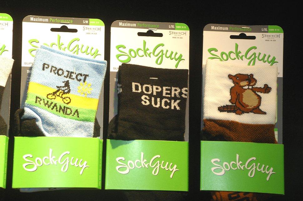Sock Guy - Eurobike 2008