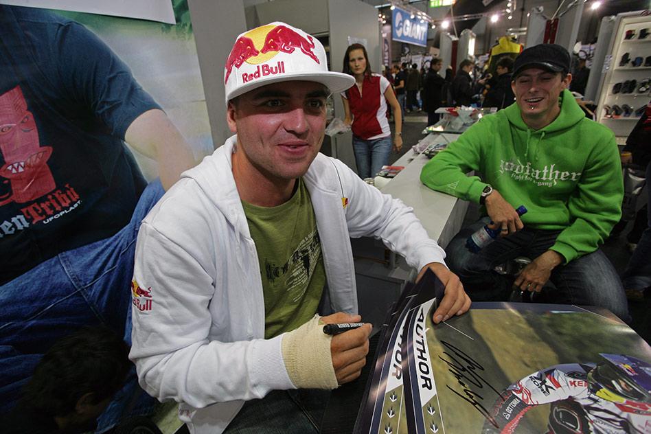 Sport Life 2008 Faces: Michal Prokop v pozadí Lukáš Tamme